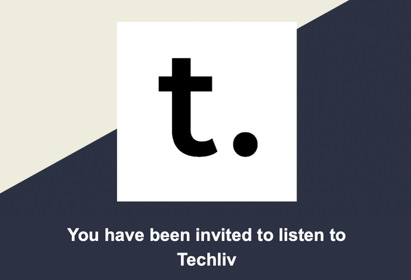 Techliv podcast: Episode 1
